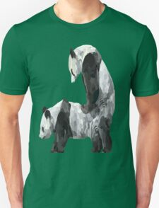 Panda-Style Unisex T-Shirt