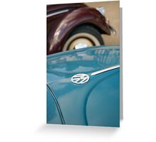 VW 9750 Greeting Card