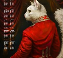 2016 Calendar — The Hermitage Court Chamber Herald Cat by Ldarro