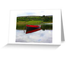 Lough Fern Fishing Boat Greeting Card