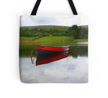 Lough Fern Fishing Boat Tote Bag