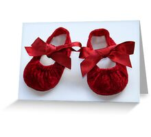 The Princess' Slippers.......... Greeting Card