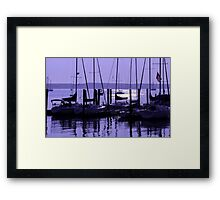 Purple Connecticut Sunrise Framed Print