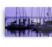 Purple Connecticut Sunrise Metal Print