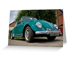VW 9802 Greeting Card
