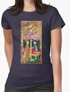 Medieval Love Womens Fitted T-Shirt