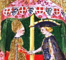 Medieval Love Sticker