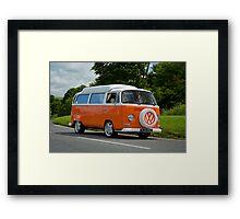 VW 9815 Framed Print