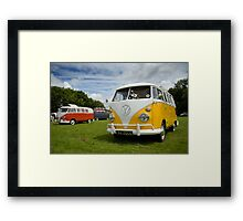 VW 9835 Framed Print