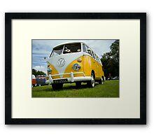 VW 9836 Framed Print