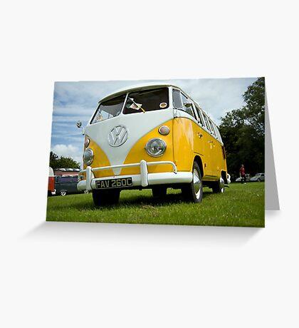 VW 9836 Greeting Card