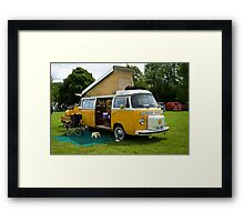 VW 9842 Framed Print