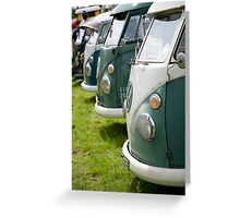 VW 9844 Greeting Card