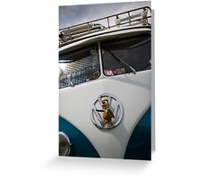 VW 9845 Greeting Card