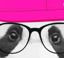 Panda - Wanna Party Cap Sticker