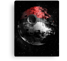Poked to Death Canvas Print