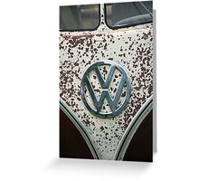 VW 9848 Greeting Card