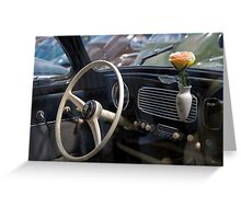 VW 9728 Greeting Card