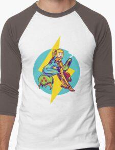 Femme Fatale Hunter  Men's Baseball ¾ T-Shirt