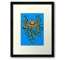 OctoKitty / Cathulhu Framed Print