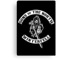 Sons of The North MC Canvas Print