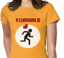 Fangirls  Womens Fitted T-Shirt
