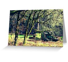 Olde Harvester  Greeting Card