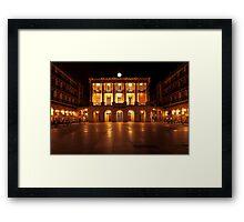 Donostia Plaza Constitución (San Sebastian) Framed Print