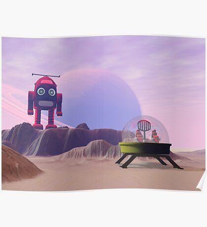 Toy Moon Walker Scene Poster
