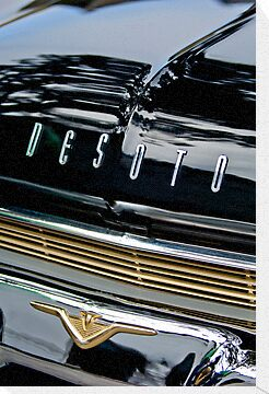 1959 DeSoto Adventurer Hood and Grille Emblems by Jill Reger
