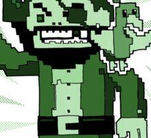 Pixel Pirate Sticker