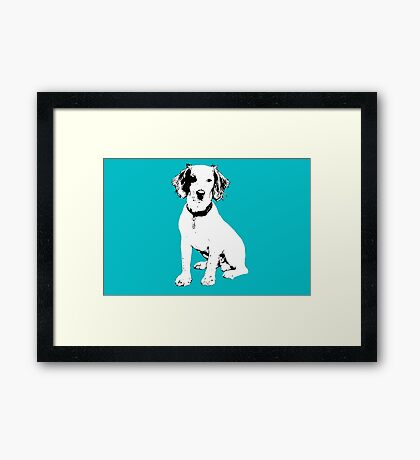 Simba - Cocker Spaniel Framed Print