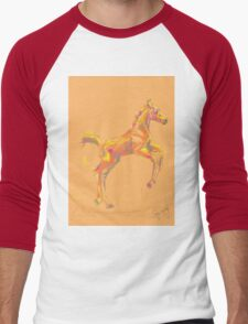 Foal, Out and about Men's Baseball ¾ T-Shirt