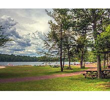 Clouds over the Lake Photographic Print