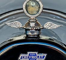 1915 Chevrolet Touring Hood Ornament by Jill Reger