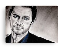 Richard Armitage, Lucas North Canvas Print