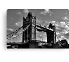 Tower bridge - London Canvas Print