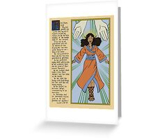The Magificat - Illuminated Manuscript Greeting Card