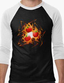Applejack's cutiemark shards Men's Baseball ¾ T-Shirt