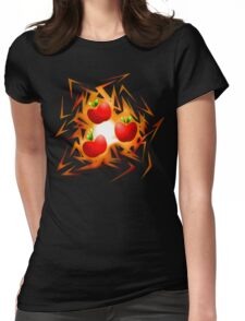 Applejack's cutiemark shards Womens Fitted T-Shirt