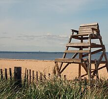 Bayville Beach by Karen Checca