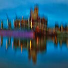 City Night by Dragomir Vukovic