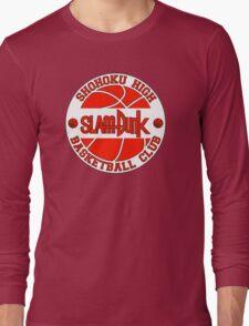 Shohoku High Basketball Club Logo Long Sleeve T-Shirt