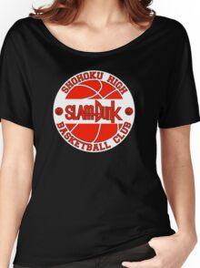 Shohoku High Basketball Club Logo Women's Relaxed Fit T-Shirt