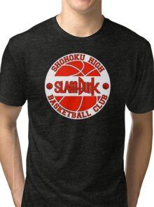 Shohoku High Basketball Club Logo Tri-blend T-Shirt