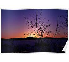 Jackman Sunset Poster