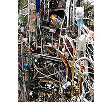 Cathedral of Junk Sculpture Photographic Print
