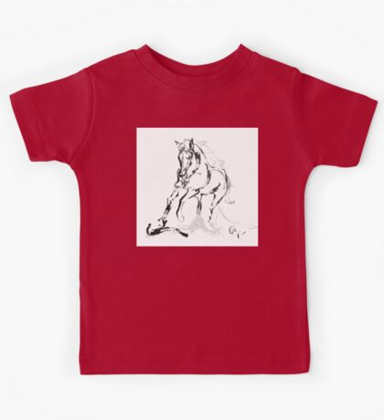 Horse- Andalusian angel Kids Tee