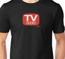 TV sucks - parody Unisex T-Shirt