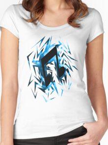 DJ-Pon3 Cutiemark Shards Women's Fitted Scoop T-Shirt